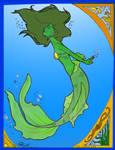 Mermaid Nouveau (Colour)