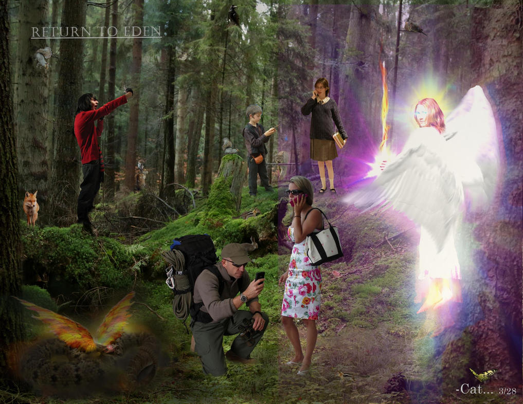 Return to eden by can cat on deviantart - Where is the garden of eden today ...