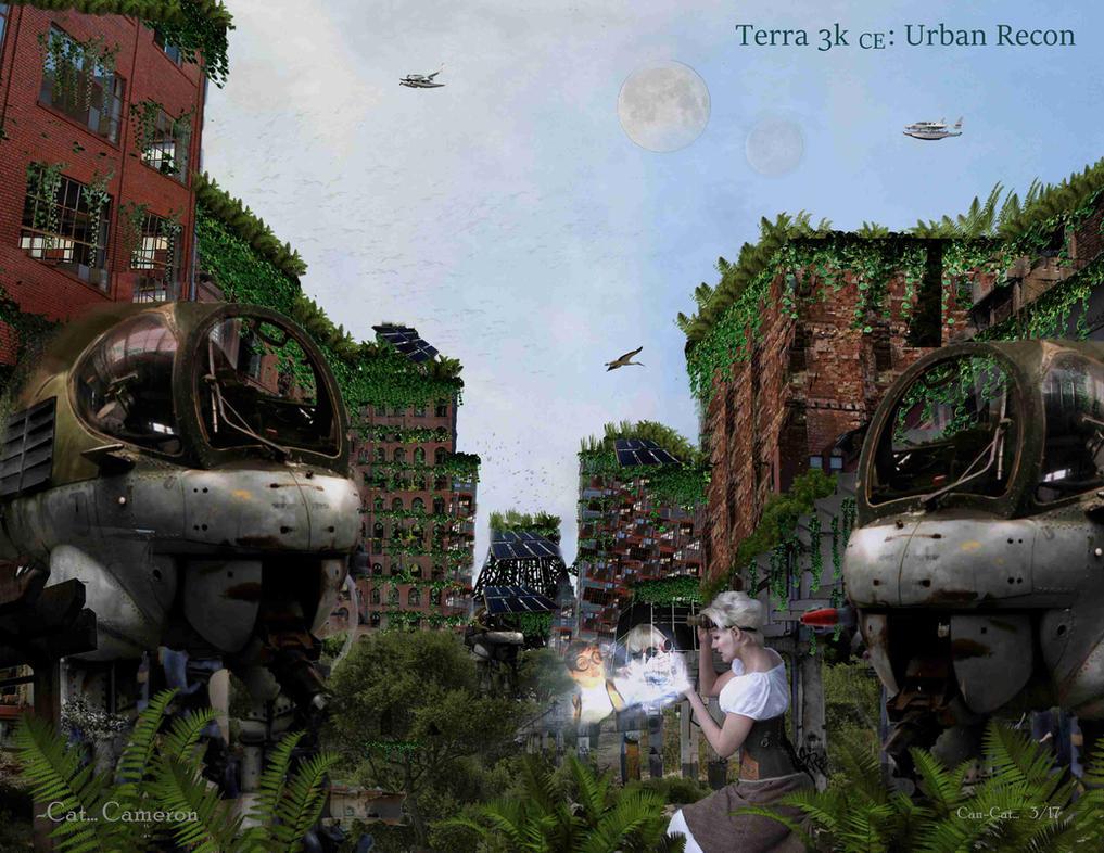 Terra 3rd Millennium: Urban Recce by Can-Cat