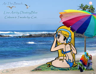 At The Beach by Can-Cat