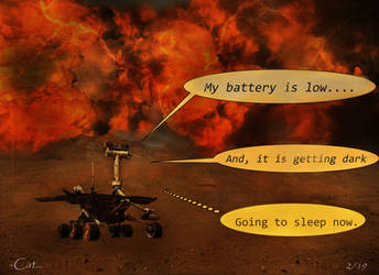 Good Night, Oppy by Can-Cat