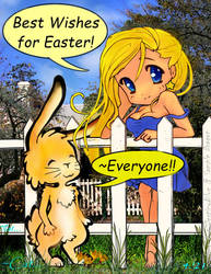 Best Wishes for Easter, Spring, + Passover