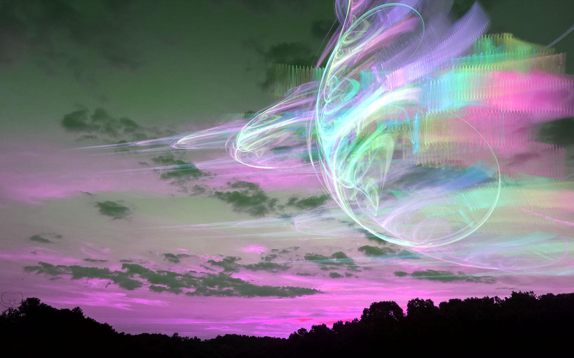 Psychedelic Sunset by shaytu