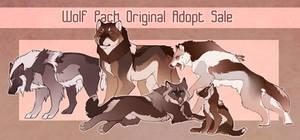 {CLOSED} Wolf Family Original Adopts