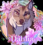 Dahlia Medallion by SilverPocky