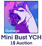 {1$ YCH - CLOSED} Outrage