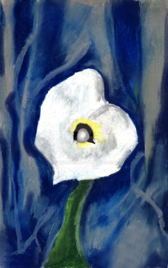 Trib to O'Keefe Calla Lily by sevymama