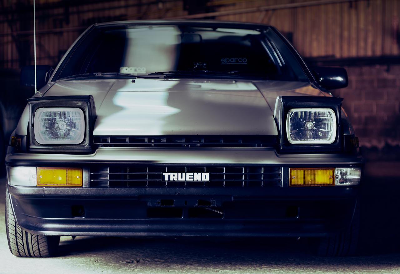 Toyota Trueno AE86 By JeffBelfi