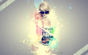 Splatter Party Wallpaper by Maryanne007