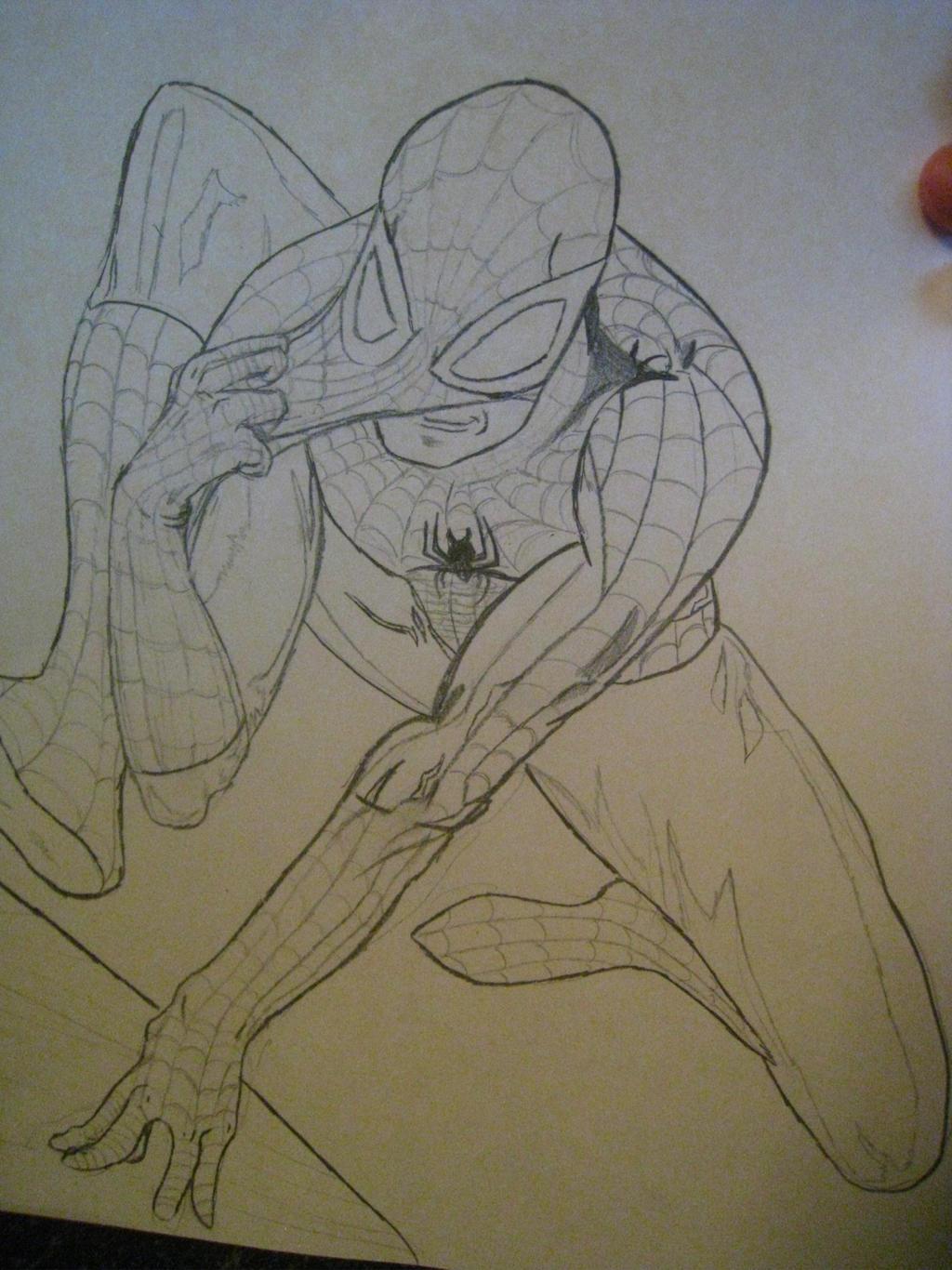Spiderman by xXXxNightShadexXXx