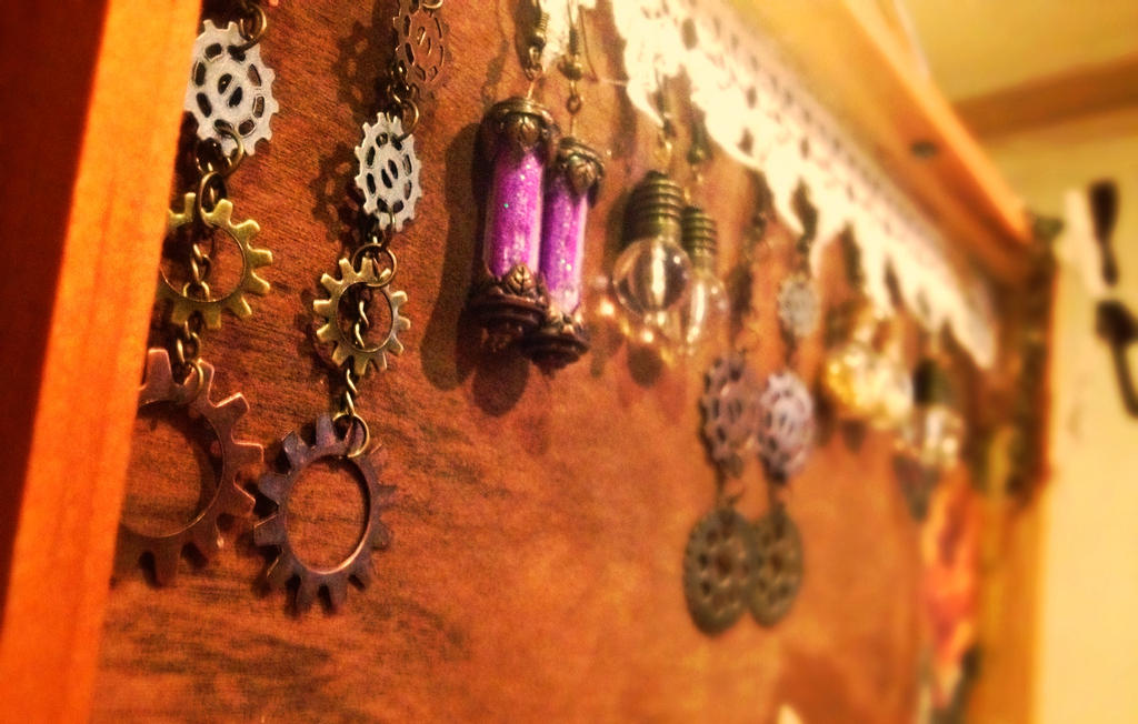 Earrings galore! :P by xXXxNightShadexXXx