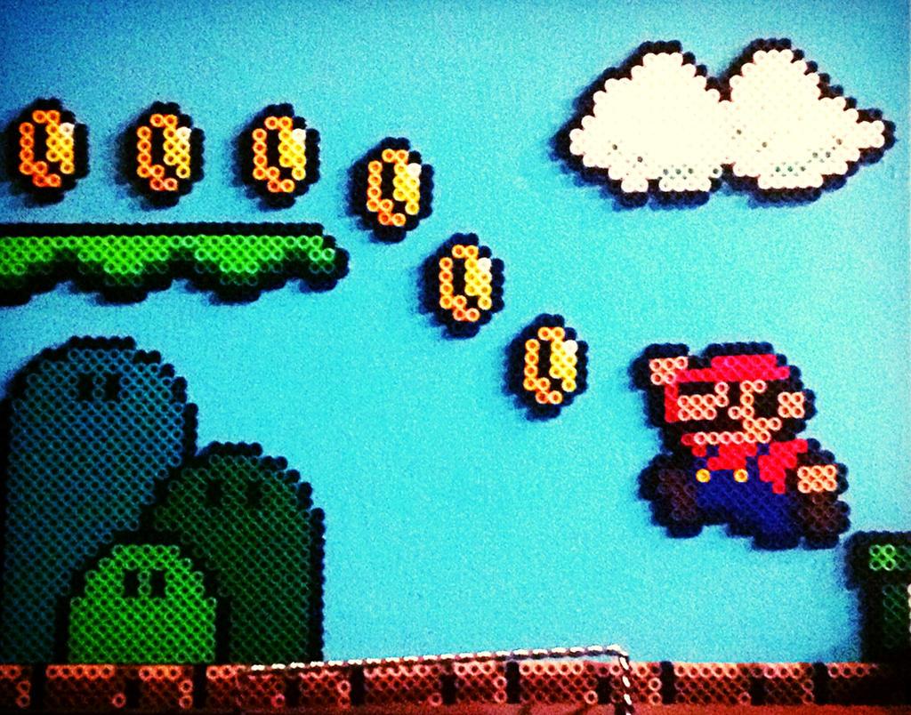 Mario lvl 1 by xXXxNightShadexXXx