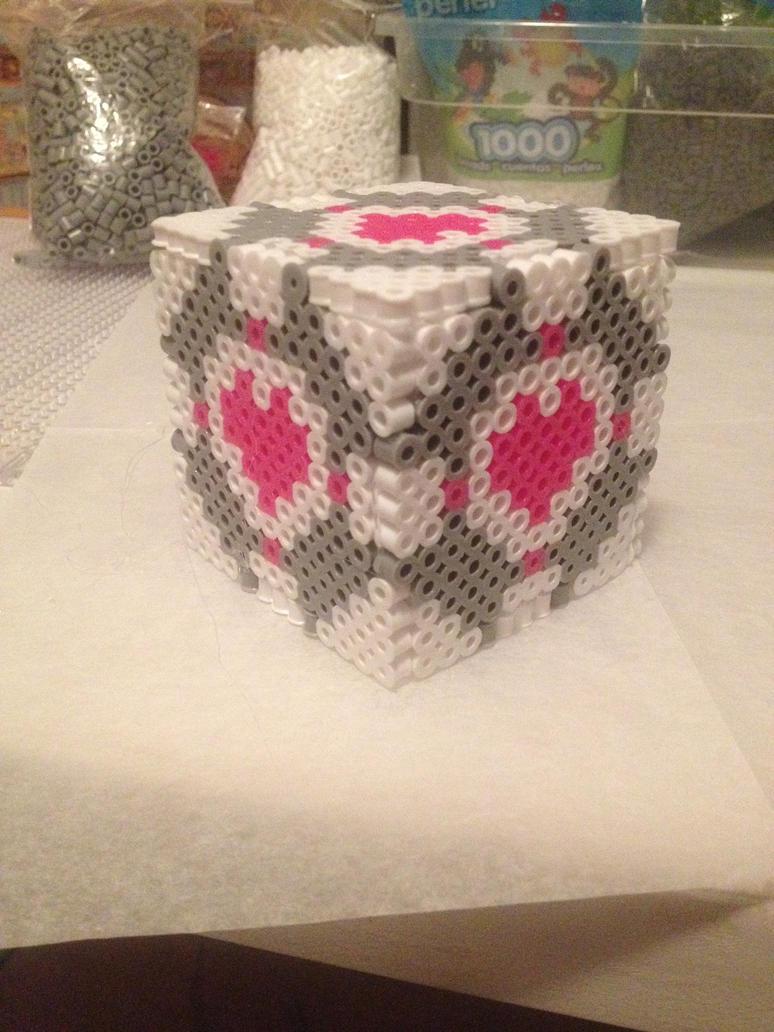 Portal Cube Prototype by xXXxNightShadexXXx