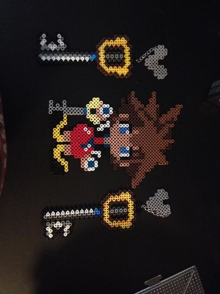 Sora and the Keyblade by xXXxNightShadexXXx