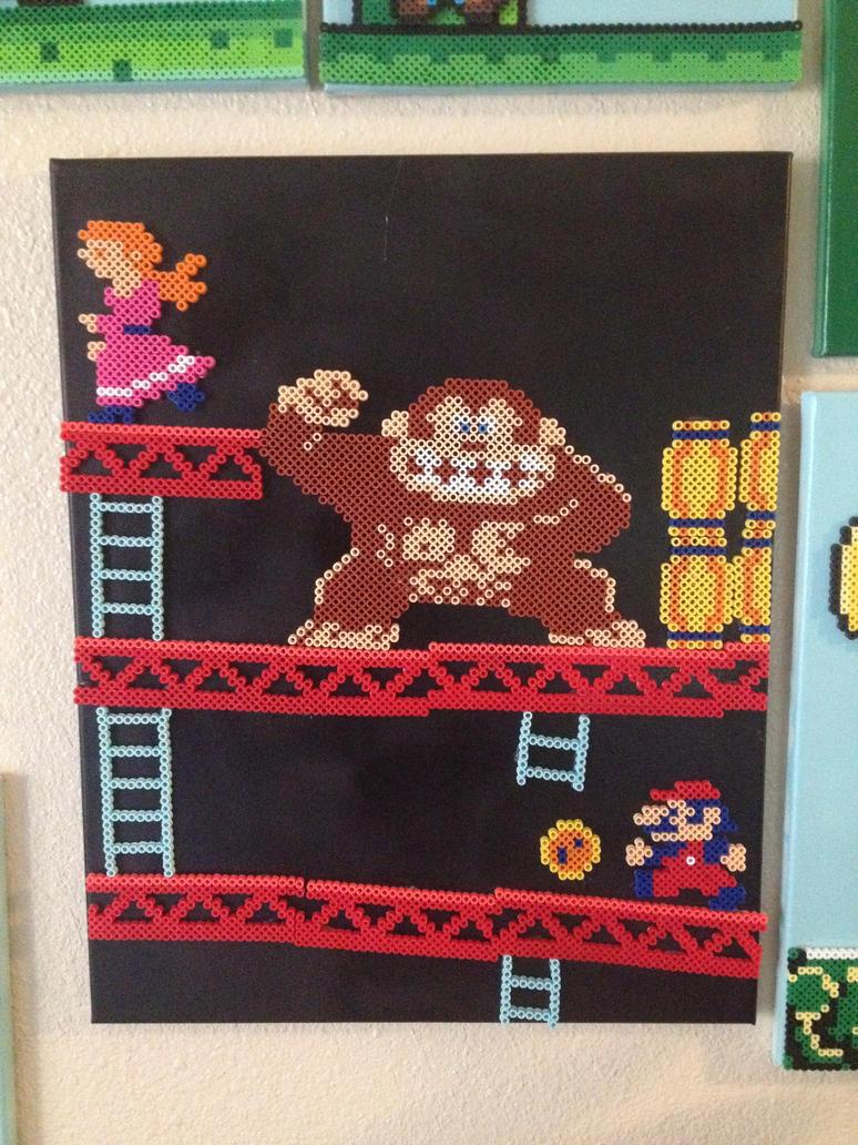 Donkey Kong level 1 by xXXxNightShadexXXx