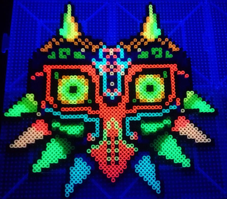 Majora's Mask Glowing 4: BLACK LIGHT by xXXxNightShadexXXx