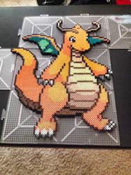 Dragonite Perler by xXXxNightShadexXXx
