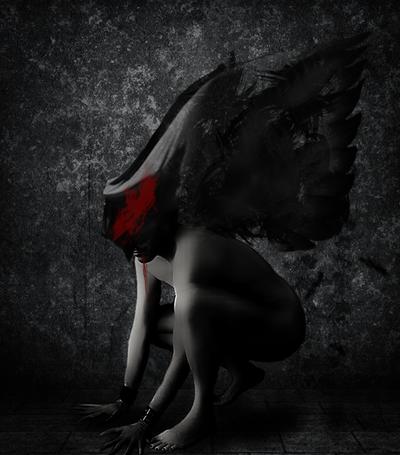 Black Raven by ChisSweetArt