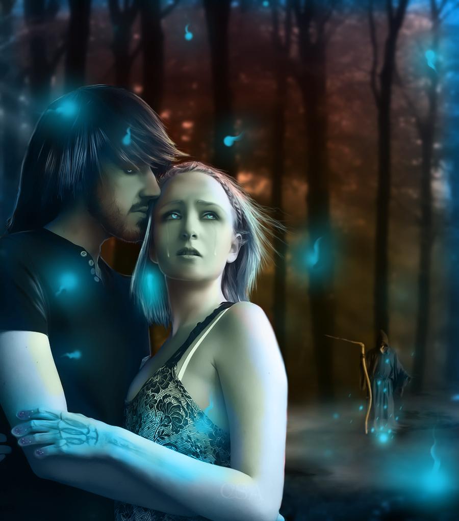 Orpheus and Eurydice by ChisSweetArt