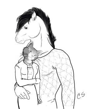 BoJack Horseman and Princess Carolyn