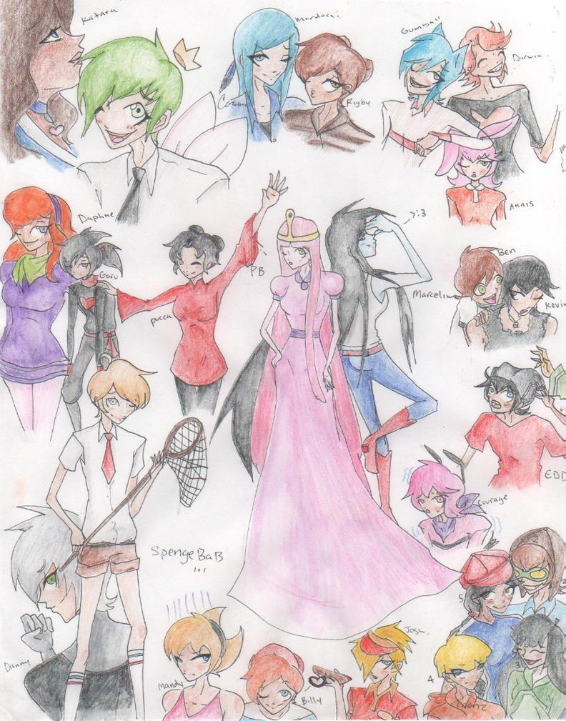 Toon Doodles by Meiyosama