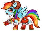 rainbow dash_My little Pony