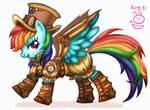 MLP-Steampunk Rainbow Dash