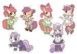 9 collection MLP-applebloom/sweetiebelle/Scootaloo
