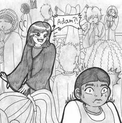 HP: Adam Wolfsbane, Isabelle seeing Adam
