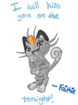 PokeLoveNote 5: Meowth