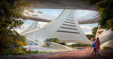 Futuristic Montreal