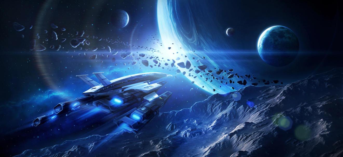 Mass Effect vs Devouring Swarm (Stellaris) | SpaceBattles Forums
