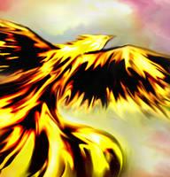 Burnt Phoenix by cumalee