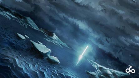 Pillar of Light by cumalee