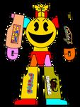 Pac-Mecha Namco Knight (Pac-Man and Namco Mecha)