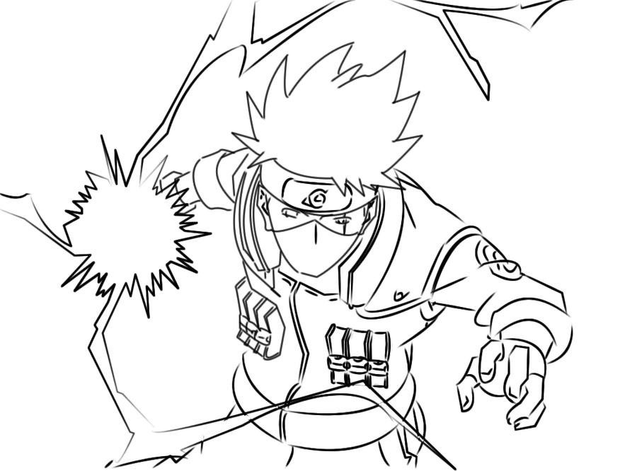 Naruto Rasengan Coloring Pages Coloring Pages