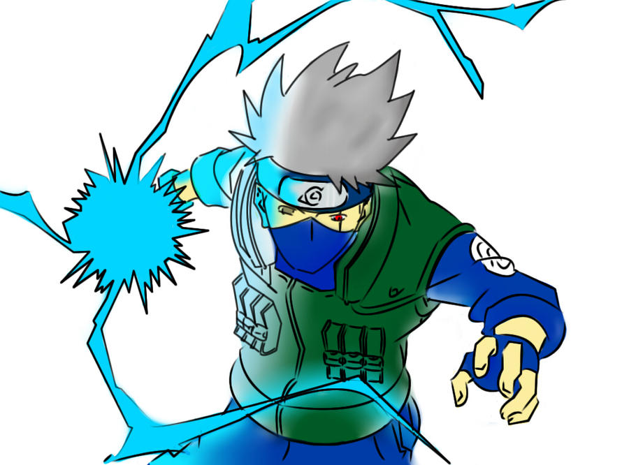 kakashi chidori by 14miguel on DeviantArt