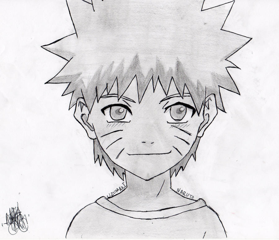 kid naruto by 14miguel on DeviantArt