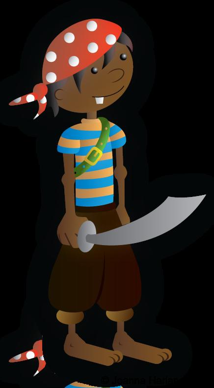Child Pirate by HarlandGirl