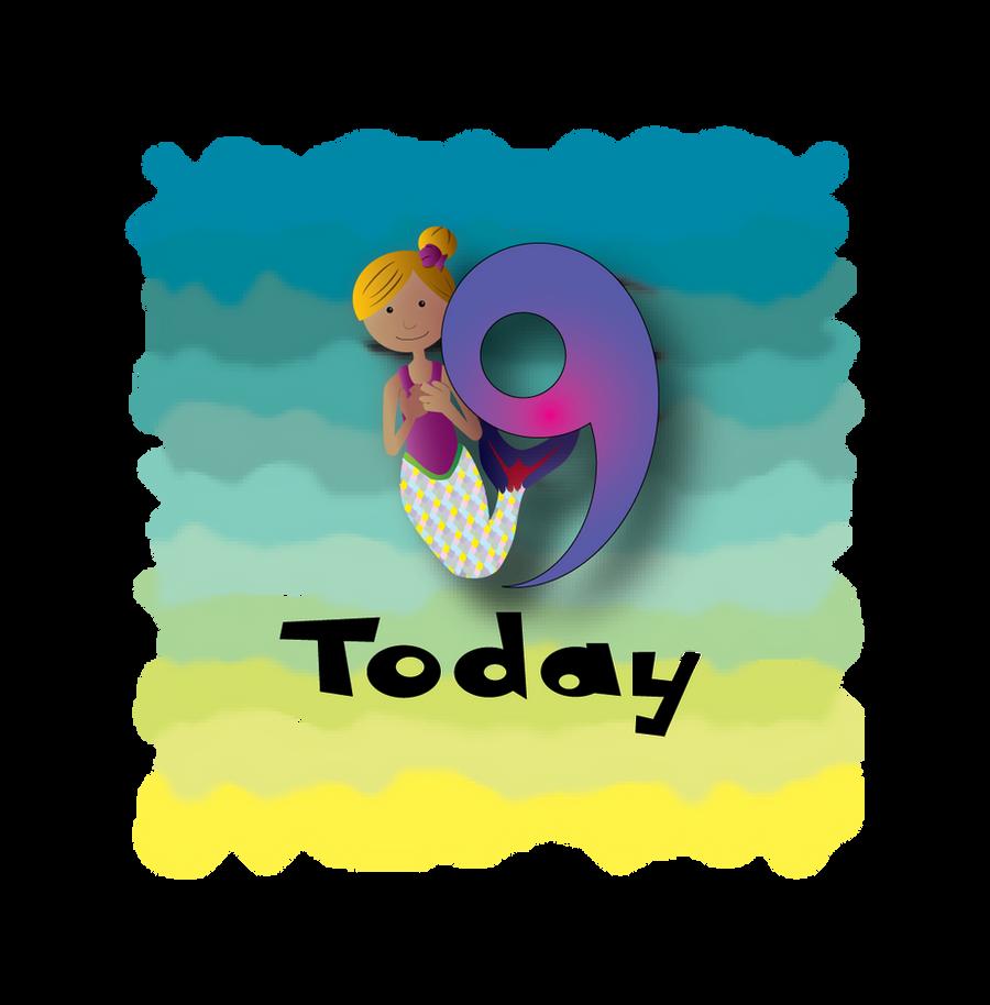 Mermaid Age Nine Design by HarlandGirl