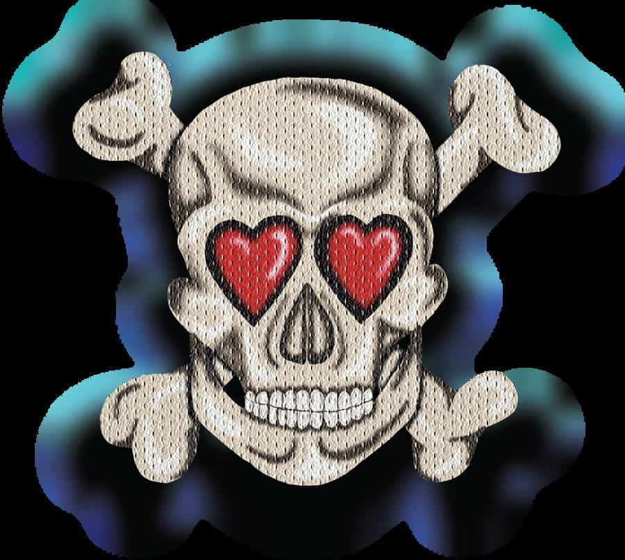 Love Skull New by HarlandGirl
