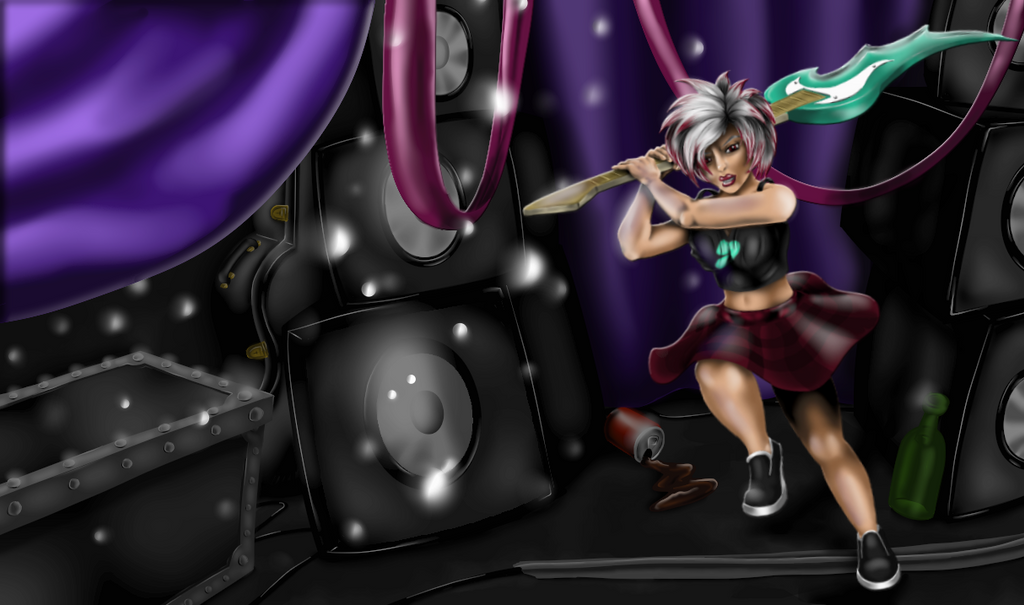 Rock Chic Riven Skin by HarlandGirl