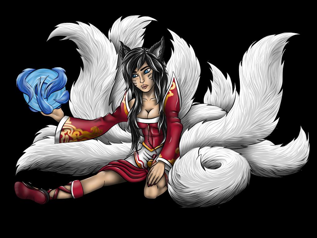 Ahri Fan Art by HarlandGirl