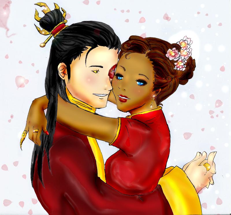 Zutara - Wedding of Union by XSeiMoneReDXZutara Wedding