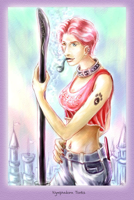 Nymphadora Tonks by firefly-wp