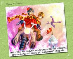 Marauders Comic 20: New Year