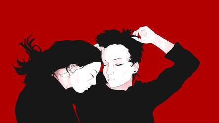 Sleeping lovers by DOMcosplay