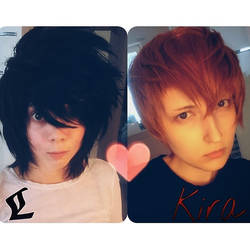 L and Light -costest by DOMcosplay