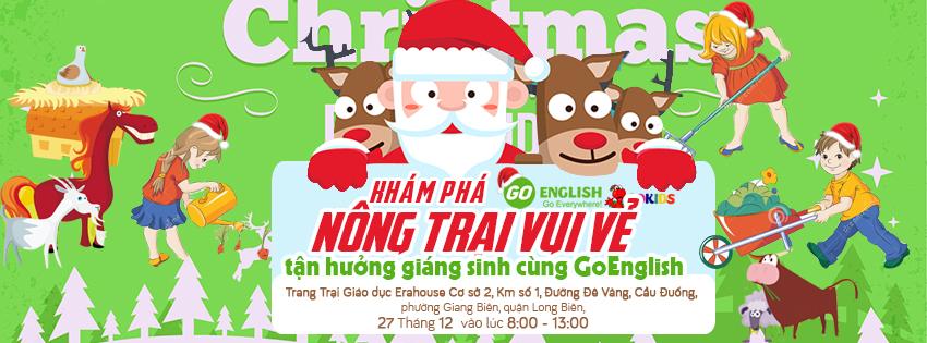 GoEnglish Christmas event by KerosHyun