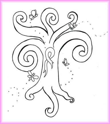 Strength, Hope and Faith - dragonfly tattoo